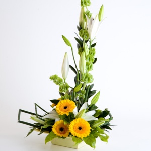 Modern Arrangement Including Lily & Gerbera Reference: ARR3